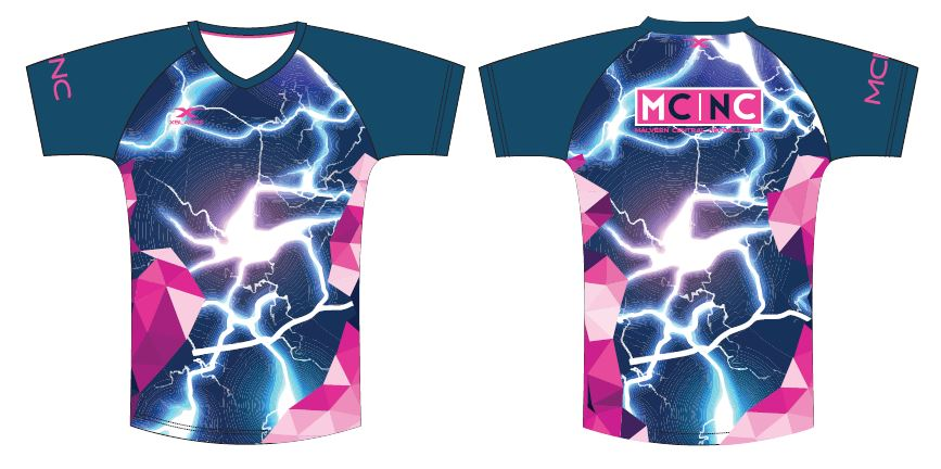Malvern Central Netball Club Training Tee 19