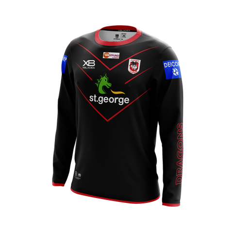 St George Illawarra Dragons LS Training Tee 20
