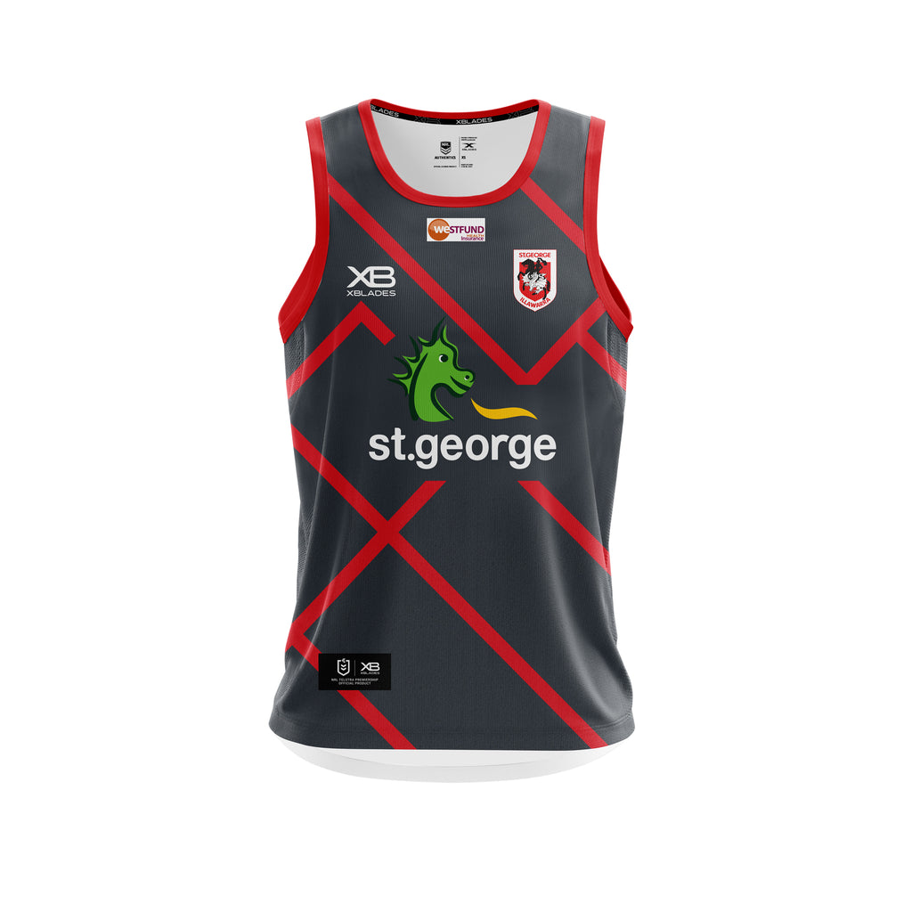St George Illawarra Preseason Training Singlet 19