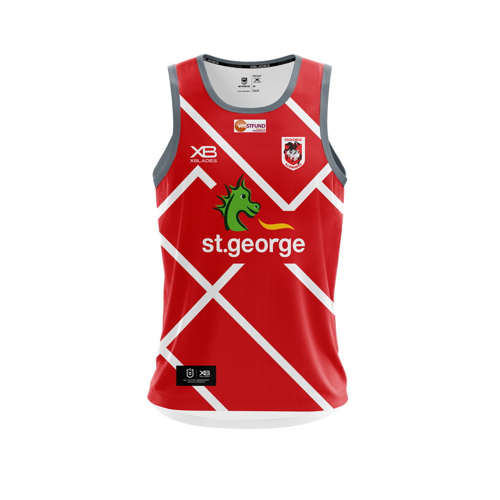 St George Illawarra Training Singlet 19
