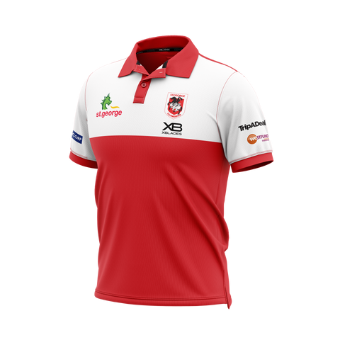 St George Illawarra Dragons Media Polo 20