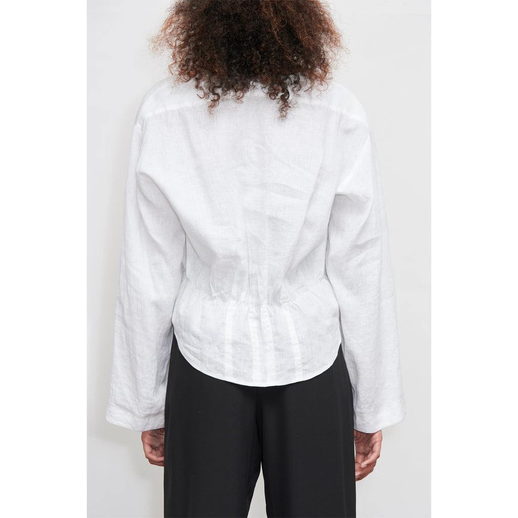 White Wide Sleeve Shirt ONLY 2 LEFT