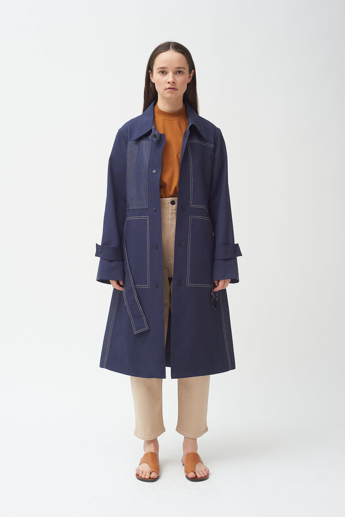 Wool Pocket Trench - Colovos x Woolmark ONLY 2 LEFT!