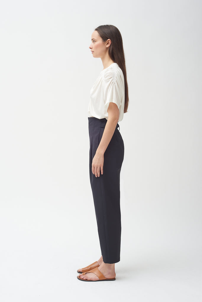Buckle Pant - Black - New Style