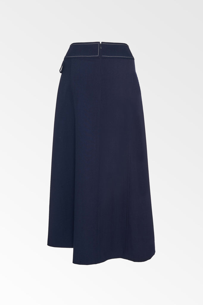 Side Buckle Skirt - Colovos x Woolmark