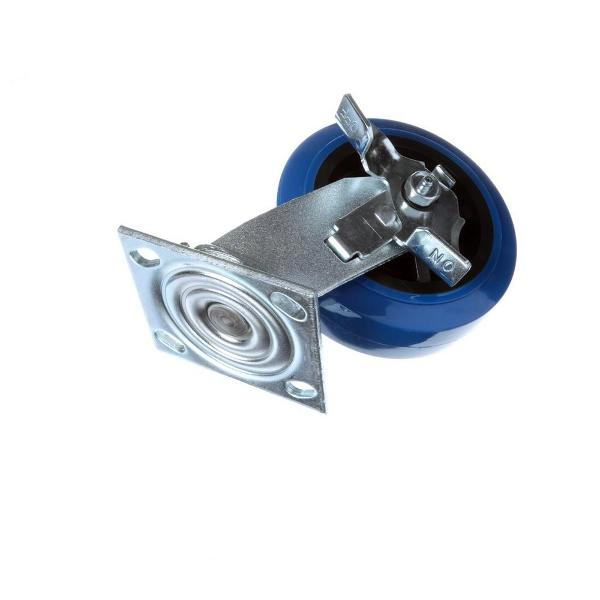 "Alto Shaam CS-2231 Caster; 6"" Swivel with Brake; Plate Style (each); 1000-BQ series"