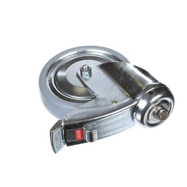 "Alto Shaam CS-23127 Roll-In Trolley Casters; 5"" Swivel with Brake"