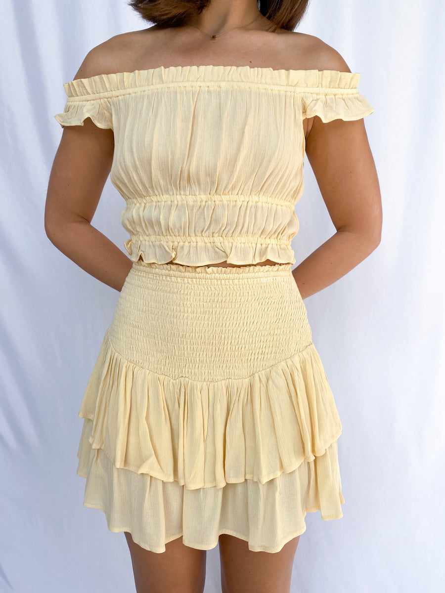 All Ruffled Up Top - Adeline