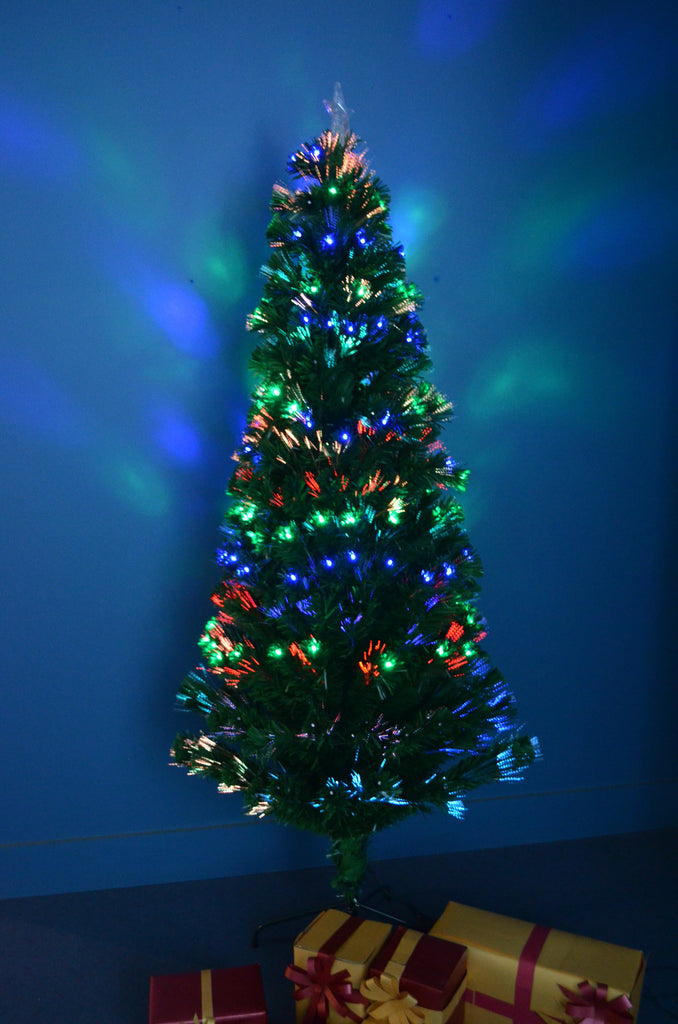 Fibre Optic Christmas Trees 6ft