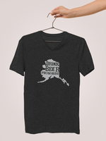 Alaska Drink Beer From Here® - V-Neck Craft Beer shirt