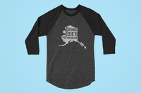 Alaska Drink Beer From Here® - Craft Beer Baseball tee