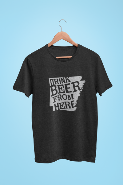 Arkansas Drink Beer From Here® - Craft Beer shirt