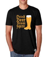 Oktoberfest- Drink Beer From Here- Craft Beer Shirt