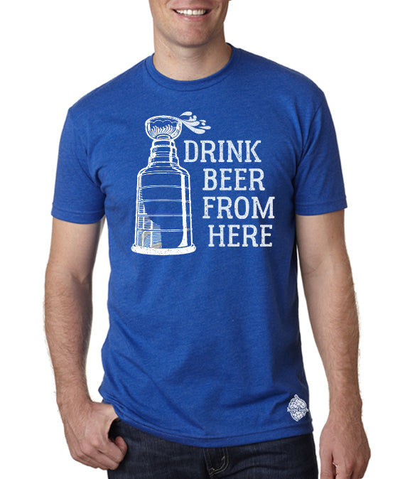 Lightning & Craft Beer- Drink Beer From here shirt
