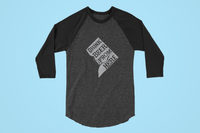 Washington D.C. Drink Beer From Here® - Craft Beer Baseball tee