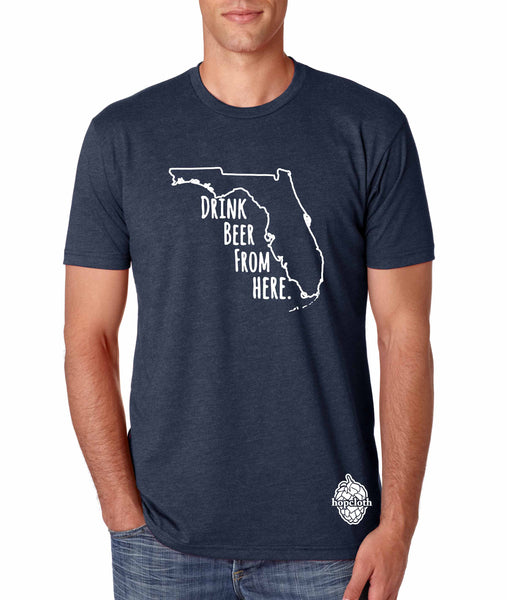 Copy of Florida Drink Beer From Here® - Craft Beer shirt