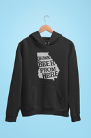Georgia Drink Beer From Here® - Craft Beer Hoodie