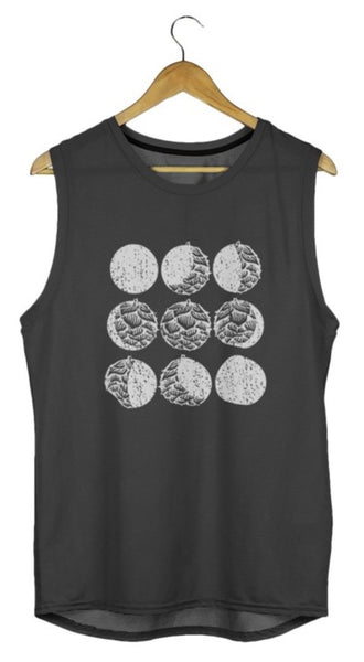 Hop Moon Phase, Craft Beer Tank, Women's Beer Tank, Cute Beer Gift