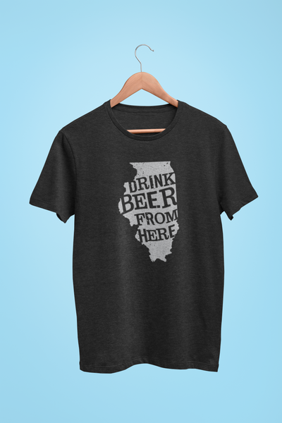 Illinois Drink Beer From Here® - Craft Beer shirt