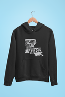 Louisiana Drink Beer From Here® - Craft Beer Hoodie