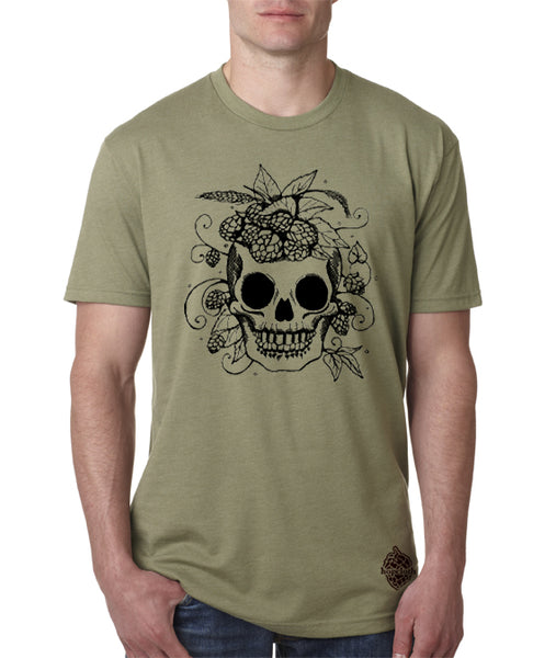 Hop Skull Craft Beer Shirt, Halloween, Gasparilla, Pirate