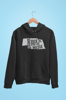 Nebraska Drink Beer From Here® - Craft Beer Hoodie