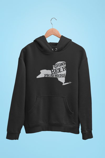 New York Drink Beer From Here® - Craft Beer Hoodie