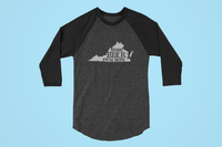 Virginia Drink Beer From Here® - Craft Beer Baseball tee