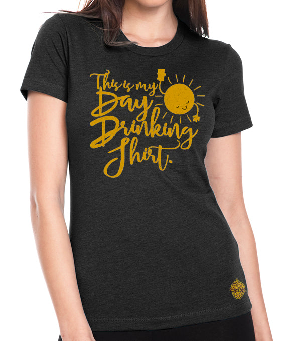 Day Drinking craft beer women's t-shirt