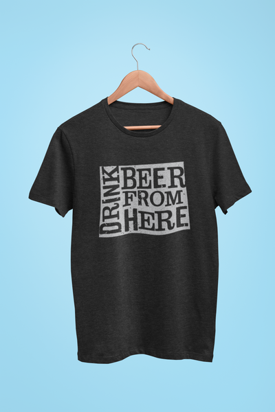Wyoming Drink Beer From Here® - Craft Beer shirt