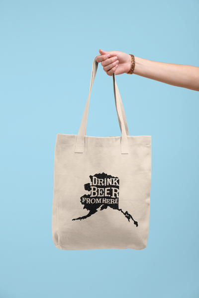 Alaska Drink Beer From Here® Tote