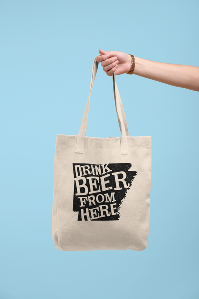 Arkansas Drink Beer From Here® Tote