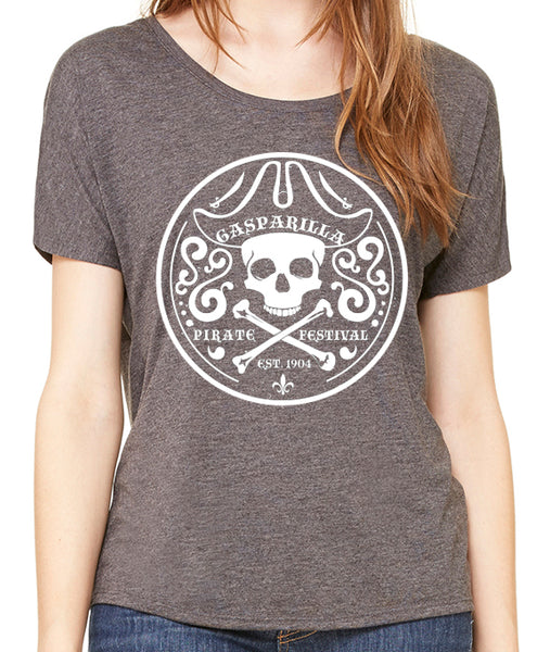 Gasparilla Pirate Festival Women's Slouchy t-shirt