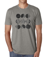 Hop Moon Phase craft beer men's shirt