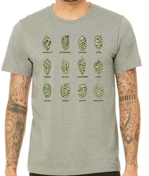 Hop Varieties Shirt