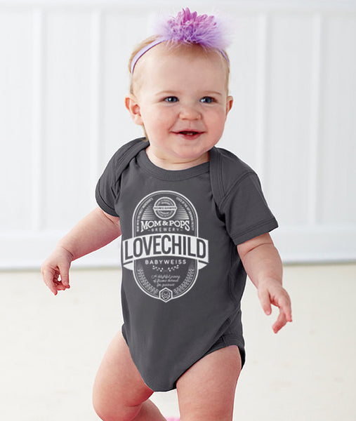 "Craft Beer Baby bodysuit- ""Lovechild"""