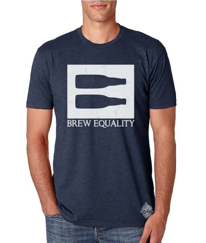 Craft beer t-shirt- Brew Equality