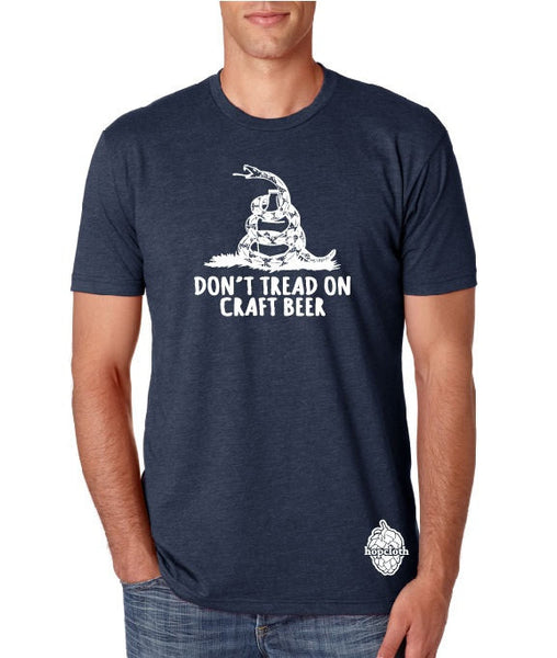 Craft Beer t-shirt- Don't Tread on Craft Beer