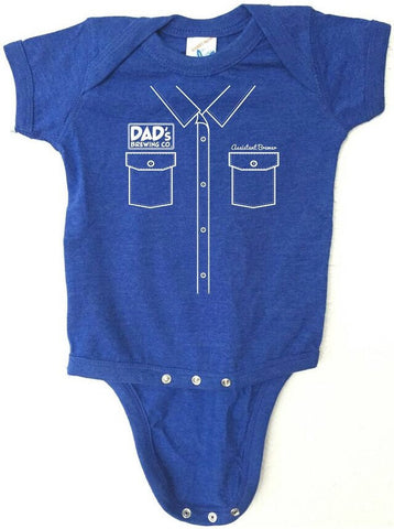 "Craft Beer Baby bodysuit- Assistant Brewer ""Work Shirt"""
