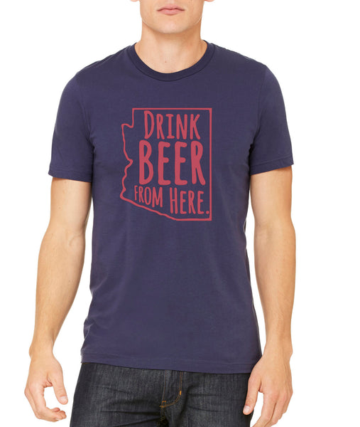 Wildcats- Drink Beer From Here- Arizona- UA Craft Beer Shirt