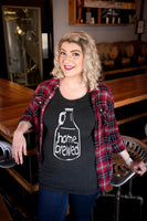 Craft Beer & Maternity t-shirt- Homebrewed baby- Women's t-shirt