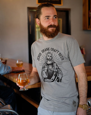 Craft Beer t-shirt- Jesus Drank Craft Beer