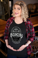 "Craft Beer & Maternity t-shirt- ""Lovechild Babyweiss""- Women's t-shirt"