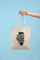 Illinois Drink Beer From Here® Tote