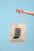 Indiana Drink Beer From Here® Tote