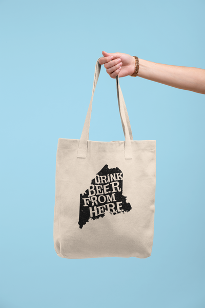 Maine Drink Beer From Here® Tote