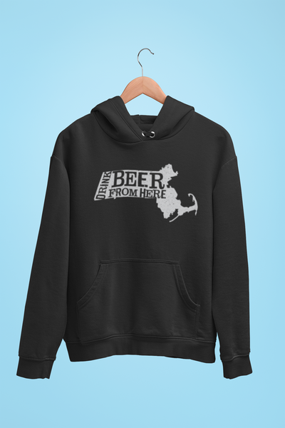 Massachusetts Drink Beer From Here® - Craft Beer Hoodie