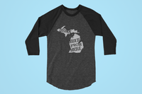 Michigan Drink Beer From Here® - Craft Beer Baseball tee