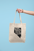 Nevada Drink Beer From Here® Tote