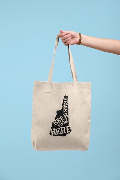 New Hampshire Drink Beer From Here® Tote